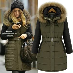 2013-Winter-Fashion-Thick-Women-Army-Green-font-b-Military-b-font-Long-Wadded-Cotton-padded