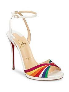 Christian Louboutin Rainbow heels