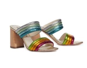 Alice and Olivia Block heeled Shoe