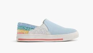 Jcrew Rainbow Slip-ons