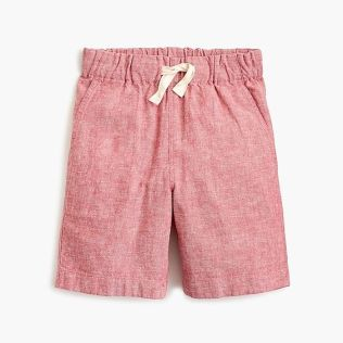 Jcrew cotton linen short