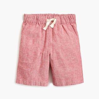 Jcrew cotton linen short